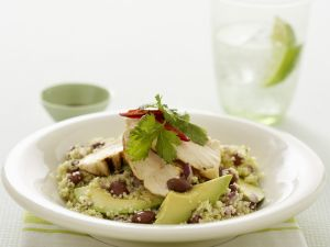 Couscous with Chicken and Avocado recipe