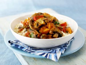Couscous with Mushroom Tajine recipe