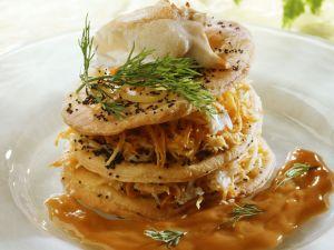 Crab Tower recipe