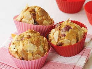 Cranberry and Almond Muffins recipe