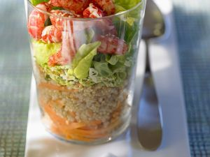 Crawfish Millet Salad recipe