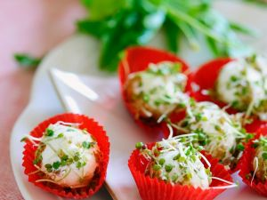 Cream Cheese and Quark Balls with Cress recipe