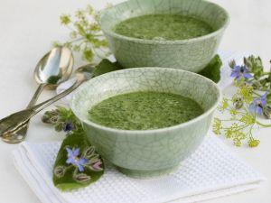 Creamy Borage Soup recipe