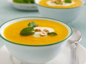 Creamy Carrot Soup with Orange recipe