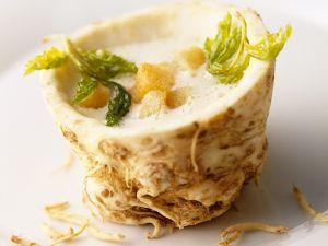 Creamy Celery Root Soup recipe