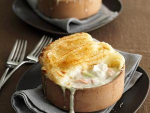 Creamy Fish Pie with Cheesy Mash recipe