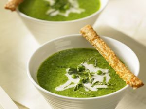 Creamy Garden Veg Bisques recipe