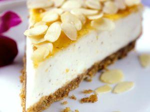 Creamy No-bake Torte with Apricot Glaze recipe