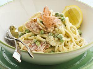 Creamy Salmon Pasta recipe