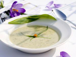Creamy Wild Garlic Soup recipe