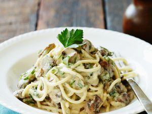Creamy Woodland Veg Pasta recipe