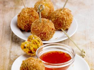 Crispy Prawn and Potato Balls recipe