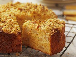 Crumble-topped Fruit Cake recipe