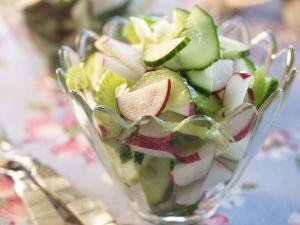 Cucumber Salad with Radish recipe