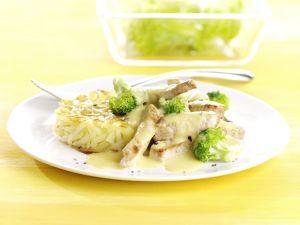 Curried Pork and Broccoli recipe