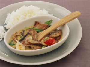 Curried Pork Fricassee recipe