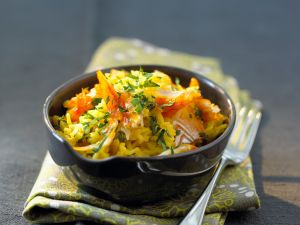 Curried Smoked Haddock Rice recipe