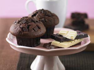 Decadent Chocolate Muffins recipe