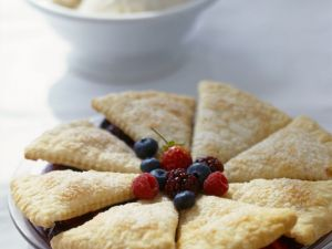 Deconstructed Mixed Berry Pie recipe