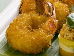 Deep-fried Coconut Shrimp recipe