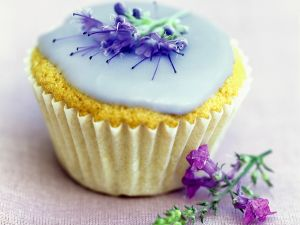 Delicate Iced Muffin recipe
