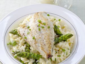 Dorade with Vegetable Rice recipe