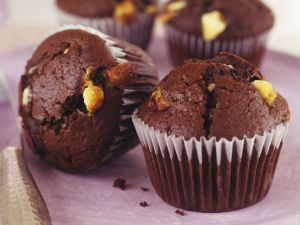 Double Chocolate Chunk Cakes recipe