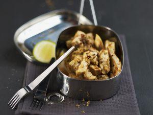 Dry Swordfish Stir-fry recipe