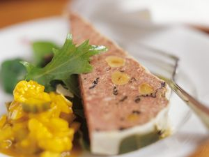 Duck Pâté with Hazelnuts recipe
