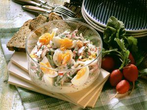 Egg and Radish Salad recipe