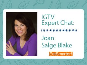 IGTV Expert Chat: Weight Management During the Pandemic with Joan Salge Blake