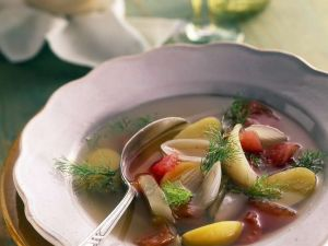 Fennel and Tomato Soup recipe