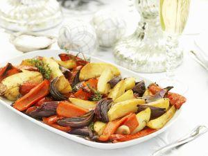 Festive Roast Veg recipe