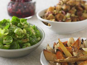 Festive Spiced Sprouts recipe