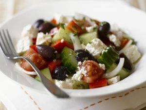 Feta and Olive Salad Bowl recipe