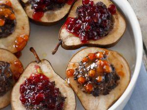 Filled Fruit Halves recipe