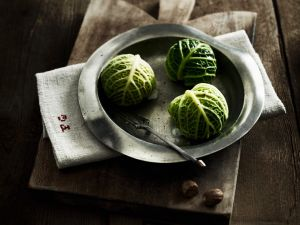 Filled Savoy Cabbage Parcels recipe