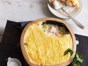 Fish Pie with Potato Topping recipe