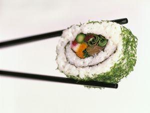 Fish & Vegetable Sushi recipe