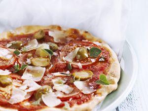 Classic Italian Flatbread Pizza recipe