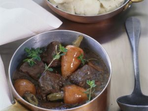 French Beef and Red Wine Casserole recipe