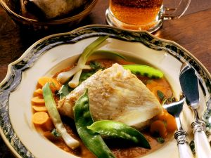 Fried Turbot Fillets with Beer Sauce recipe