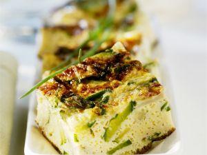 Zucchini and Egg Squares recipe