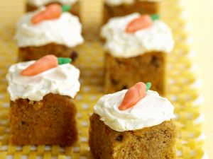 Frosted Carrot Squares recipe