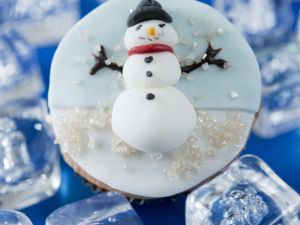 Frosty the Snowman Cakes recipe