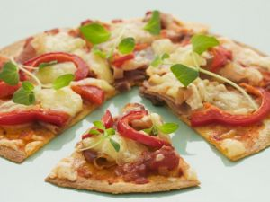 Fruit and Veg Pizza recipe