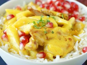 Fruity Chicken Curry recipe