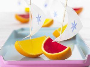 Fruity Jelly Boats recipe