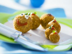 Funny Face Meatballs recipe