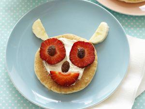 Funny Fruit Pancakes recipe
